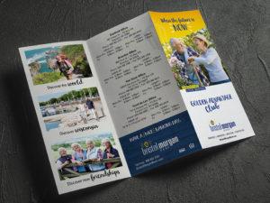 Bristol Morgan Bank trifold brochure