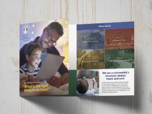 Tri-fold Folder and Brochure