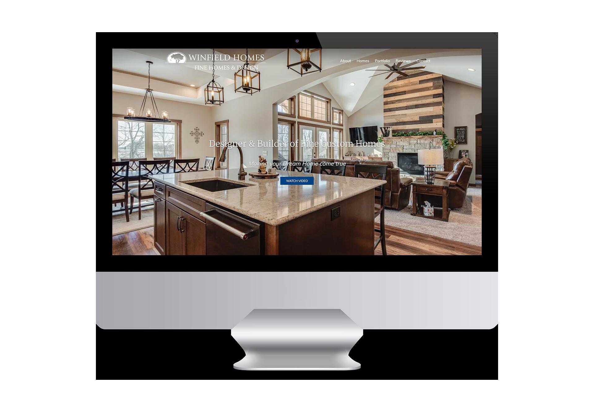 Winfield Portfolio-Desktop