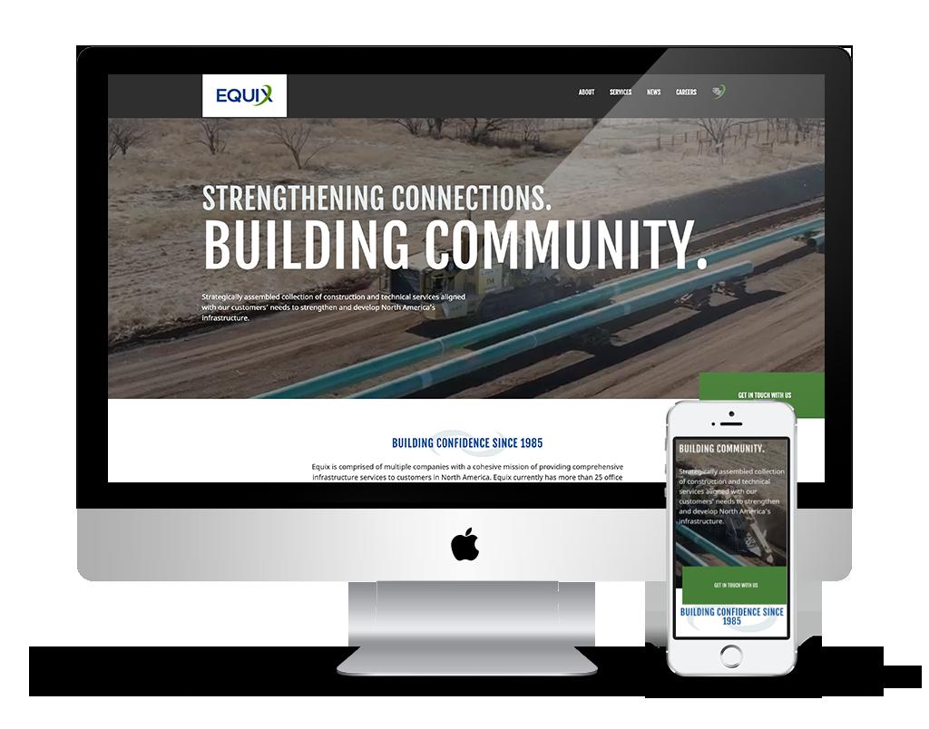 equix-desktop-mobile-website